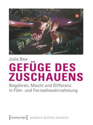 cover image of Gefüge des Zuschauens