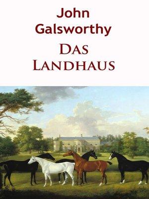 cover image of Das Landhaus