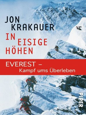 cover image of In eisige Höhen