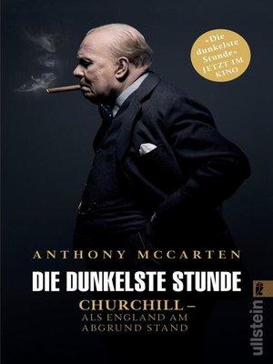 cover image of Die dunkelste Stunde