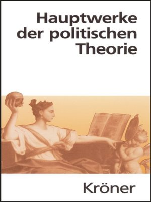 cover image of Hauptwerke der politischen Theorie