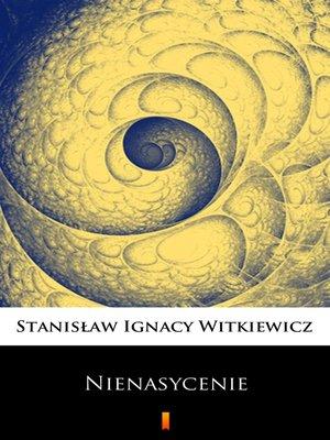 cover image of Nienasycenie