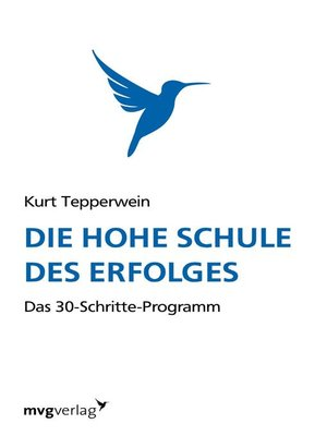 cover image of Die hohe Schule des Erfolgs
