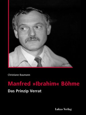 cover image of Manfred 'Ibrahim' Böhme