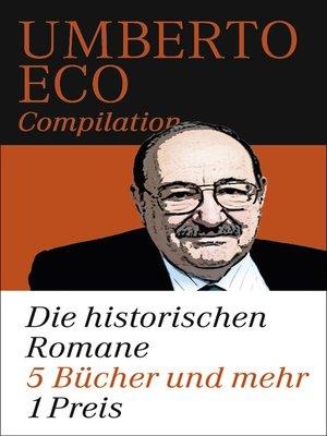 cover image of Die historischen Romane