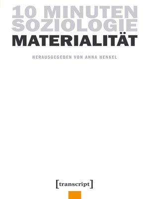 cover image of Serie 10 Minuten Soziologie, Buch 1