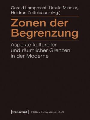 cover image of Zonen der Begrenzung