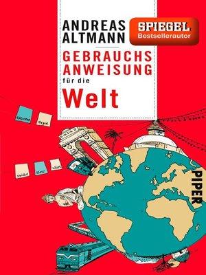 cover image of Gebrauchsanweisung für die Welt