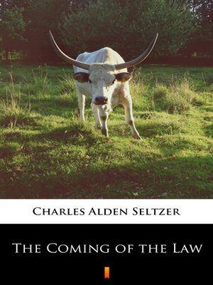 cover image of The Coming of the Law