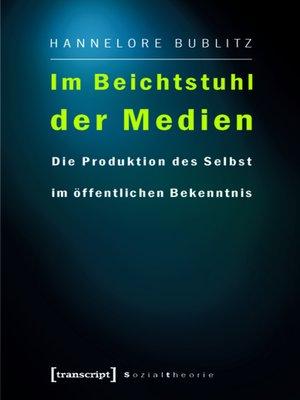 cover image of Im Beichtstuhl der Medien