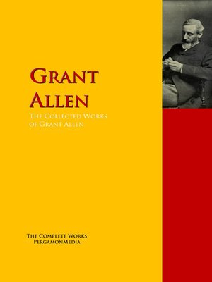 cover image of The Collected Works of Grant Allen