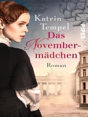 cover image of Das Novembermädchen
