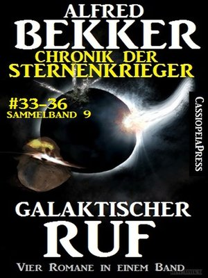 cover image of Galaktischer Ruf (Chronik der Sternenkrieger 33-36--Sammelband 9)