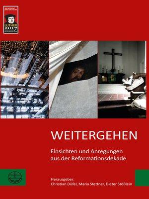 cover image of Weitergehen