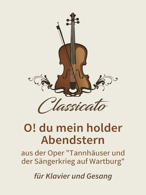 cover image of O! du mein holder Abendstern