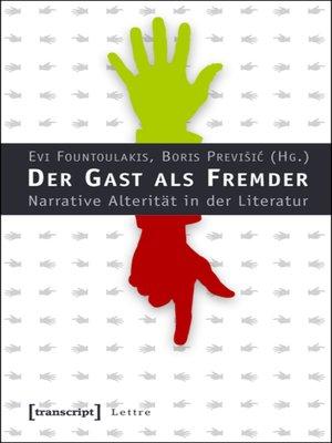 cover image of Der Gast als Fremder