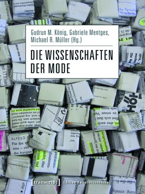 cover image of Die Wissenschaften der Mode
