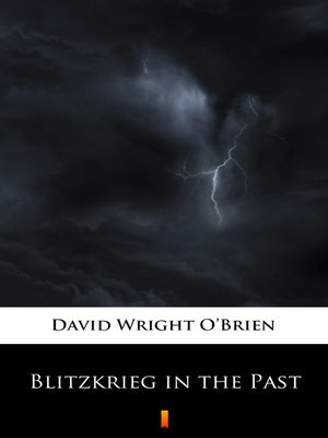 cover image of Blitzkrieg in the Past