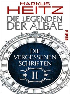 cover image of Die Vergessenen Schriften 2