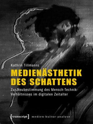 cover image of Medienästhetik des Schattens