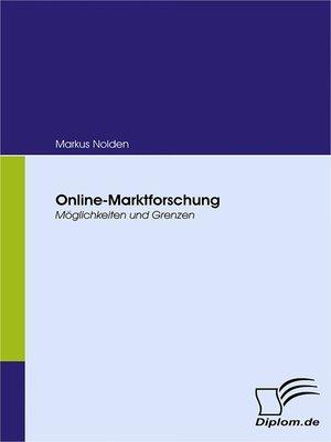 cover image of Online-Marktforschung