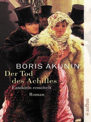 cover image of Der Tod des Achilles
