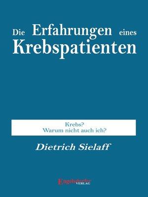 cover image of Die Erfahrung eines Krebspatienten