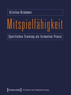 cover image of Mitspielfähigkeit