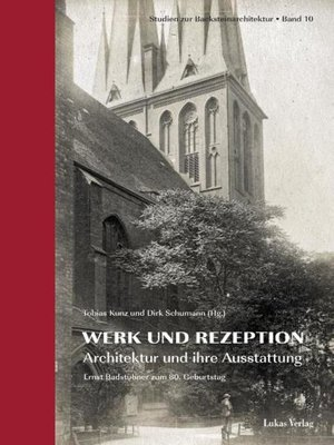 cover image of Studien zur Backsteinarchitektur / Werk und Rezeption