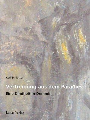 cover image of Vertreibung aus dem Paradies