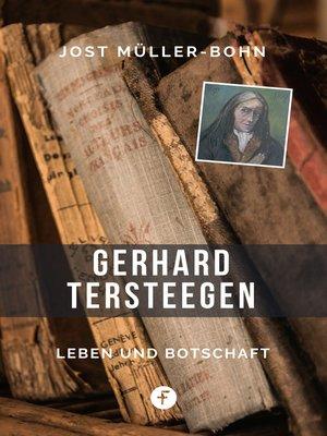 cover image of Gerhard Tersteegen