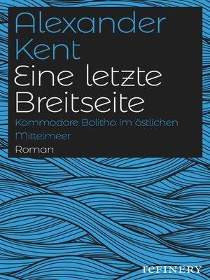 cover image of Eine letzte Breitseite