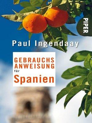 cover image of Gebrauchsanweisung für Spanien
