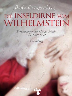 cover image of Die Inseldirne vom Wilhelmstein