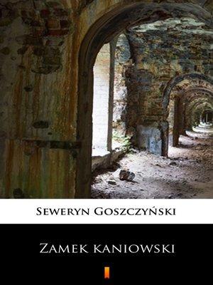 cover image of Zamek kaniowski
