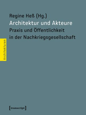 cover image of Architektur und Akteure