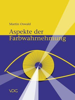 cover image of Aspekte der Farbwahrnehmung