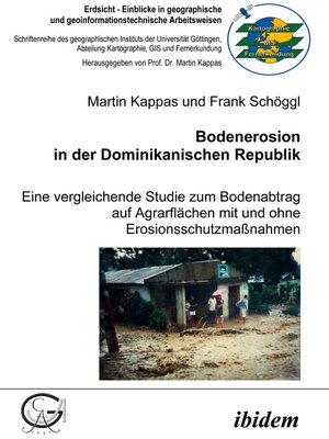 cover image of Bodenerosion in der Dominikanischen Republik