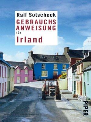 cover image of Gebrauchsanweisung für Irland