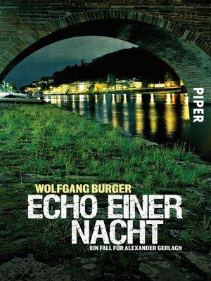 cover image of Echo einer Nacht