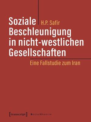 cover image of Soziale Beschleunigung in nicht-westlichen Gesellschaften