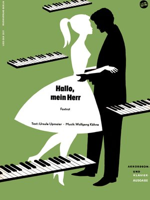 cover image of Hallo, mein Herr