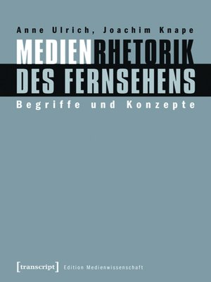 cover image of Medienrhetorik des Fernsehens