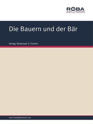cover image of Die Bauern und der Bär