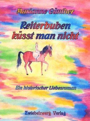 cover image of Reiterbuben küsst man nicht
