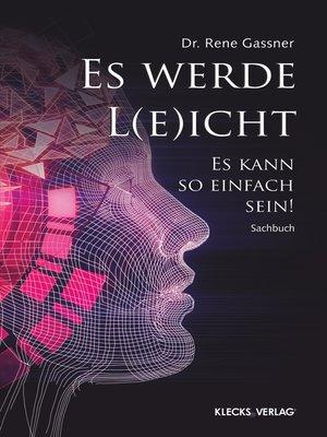 cover image of Es werde L(e)icht