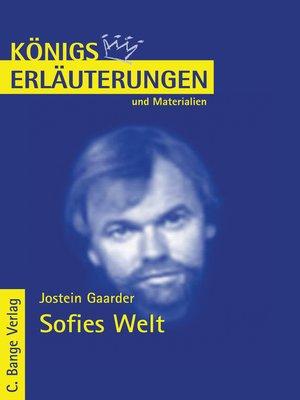 cover image of Sofies Welt. Textanalyse und Interpretation.
