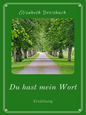 cover image of Du hast mein Wort