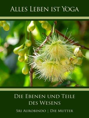 cover image of Die Ebenen und Teile des Wesens