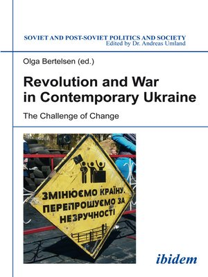 cover image of Revolution and War in Contemporary Ukraine
